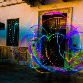 tanec světel