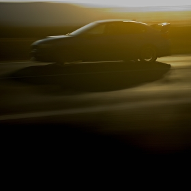 Subaru Impreza - závod se světlem