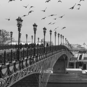 Патриарший мост, Москва 2016