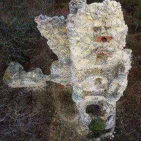 Zřícenina hradu Dražice