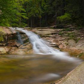 Část Mumlavského vodopádu