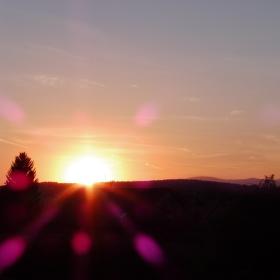 Západ slunce II