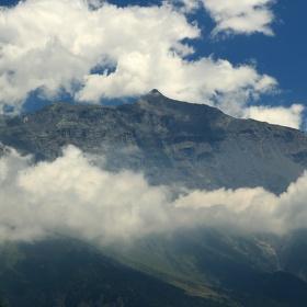 oblačnost v horách