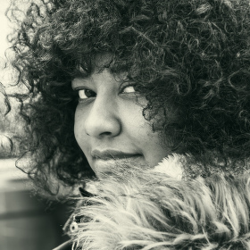Suleica loves afro