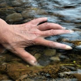 Pohlaď vodu.