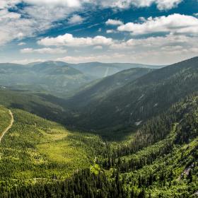 Labské údolí