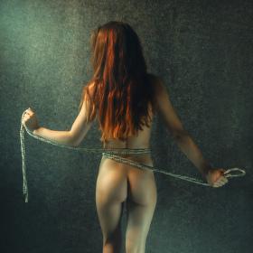 Dívka s provazem