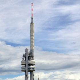 Věž televizní a kostelní...