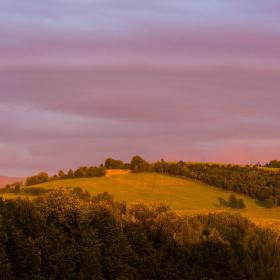 večerní barvy