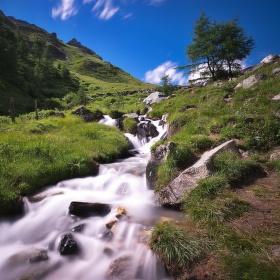 Alpský potok