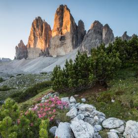 Tre Cime, Dolomity