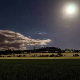 Měsíční krajina