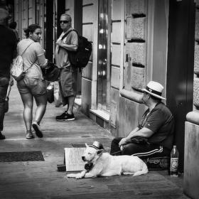Ze života na ulici