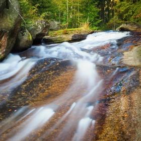 Vodopád na Černé Desné