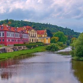 Zámek a klášter  Zbraslav