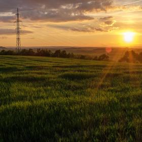 Západ nad Plzní