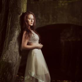 Klárka v lese