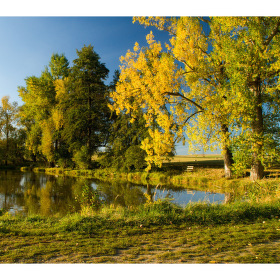 Podzim u vody....