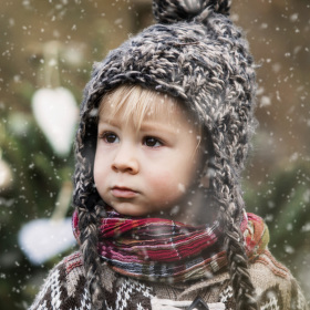 První sníh..