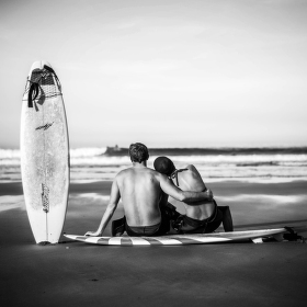 Romantic surf