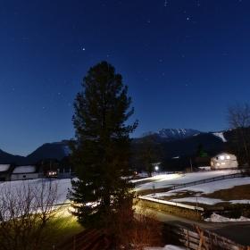 Klidná rakouská noc