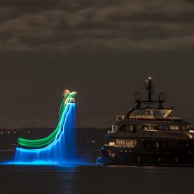 Noční létání nad vodou