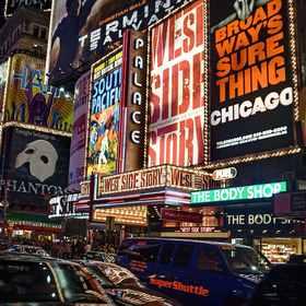 CHICAGO a ostatní muzikály na Broadway