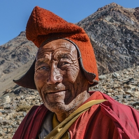 Mnich z Phuktahal gompy