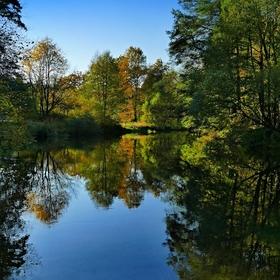 Podzim na řece Úpě