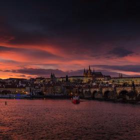 Pražský večer
