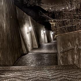 Po starých zámeckých schodech...