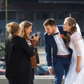 Jak se fotí svatba III.