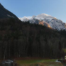 Zimní Berchtesgaden