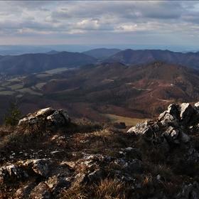 Panorama z Vápeče