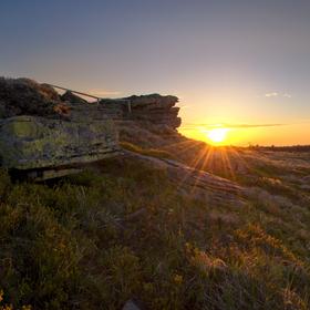 Východ slunce Keprník