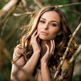Portrét krásné Lucie