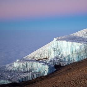 Ledovec na vrcholu