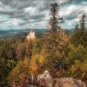 Podzim přichází na Kašperk