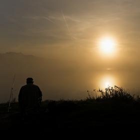 Osamělý rybář