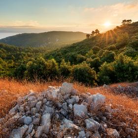 Svítání na Korčule