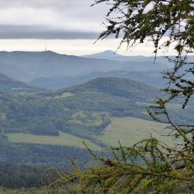 Pohled z  Děčínského Sněžníku