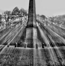 Obelisk   Zámecká zahrada Krásný dvůr