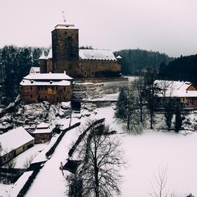 hrad kost v Zimě, Český ráj