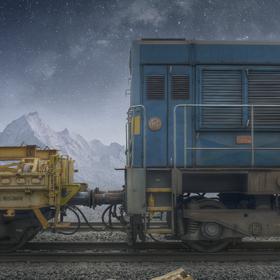Pracovní vlak...