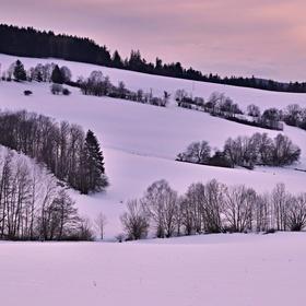 Pošumavská zima