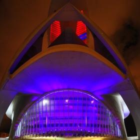 To není sci-fi :-) to je opravdu budova Filharmonie