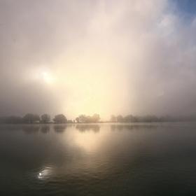 Jistebnické mlhavé ráno