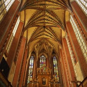 Klášterní kostel benediktýnek v Toruni