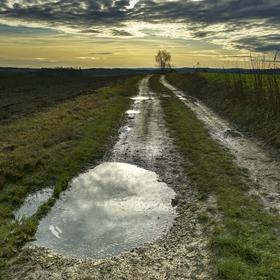 Zima na blátě