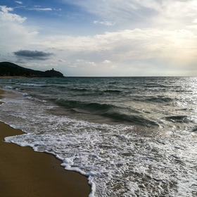 Osamocená pláž